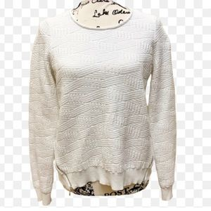 ANTHRO Moth Sweater With Side Zipper Sz S